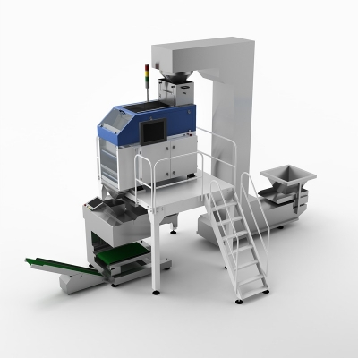 Connector Vision Counting Packing Machine